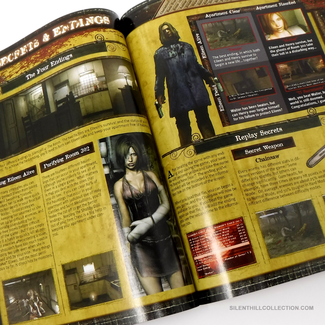 Silent Hill 4 The Room Official Strategy Guide Us
