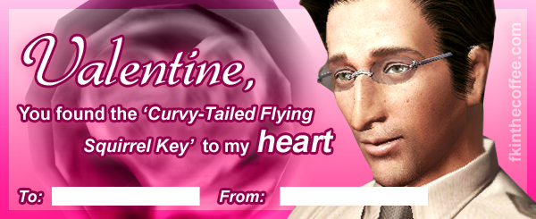 Here\'s some Deadly Premonition Valentines! | Welcome to Greenvale